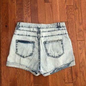 Cotton On Shorts - Acid wash Cotton on shorts